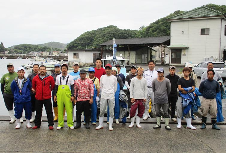 Delivering Sustainable Kushikake Oyster to the World